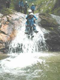 Canyoning in Österreich